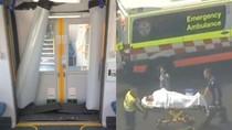 Kereta di Sydney Tabrak Pagar Penghalang, Belasan Luka-luka