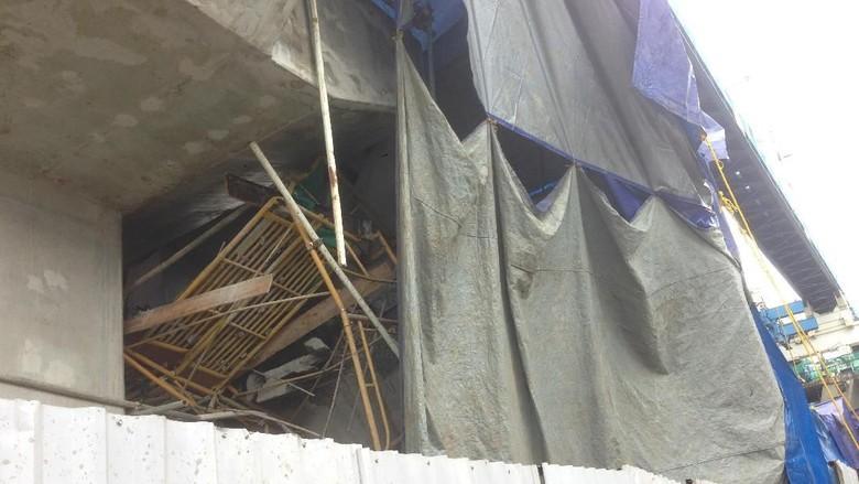 LRT Jakarta Sudah Dua Kali Kecelakaan Konstruksi