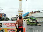 Kisah di Balik Aksi Si Jersey Kulit Bantul Gowes Kampanye Antinarkoba
