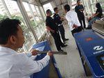 Fasilitas Halte TransJakarta ITC Mangga Dua Dirusak Orang