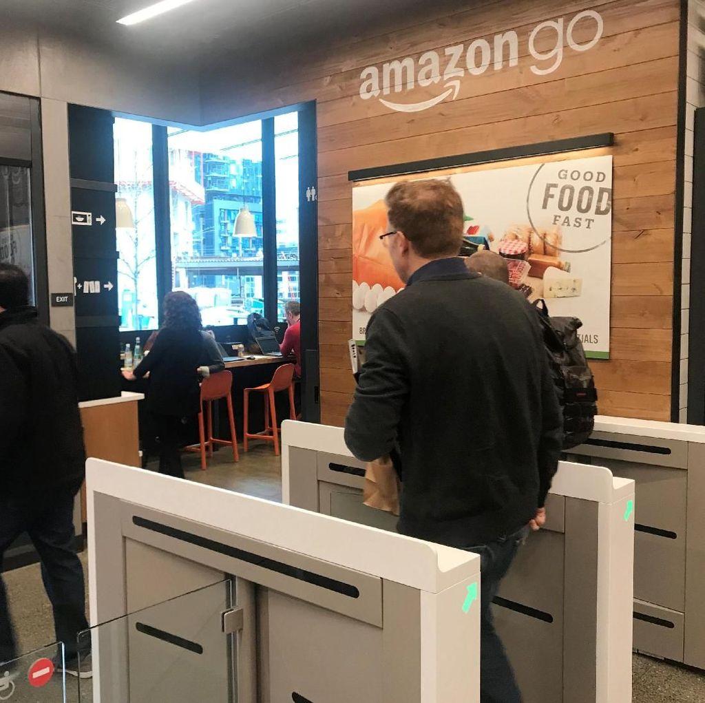 Amazon Go, Toko Otomatis Masa Depan yang Resmi Dibuka