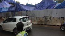 Polisi: Konstruksi LRT Kayu Putih Roboh Saat Pemasangan Girder