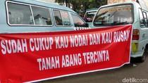 Tuntutan Sopir Angkot: Kembalikan Trayek, Hapus Tanah Abang Explorer