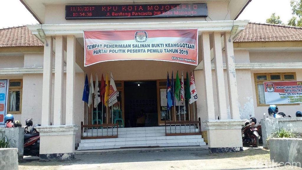 4 Pasangan Calon Dipastikan Bertarung di Pilwali Mojokerto 2018