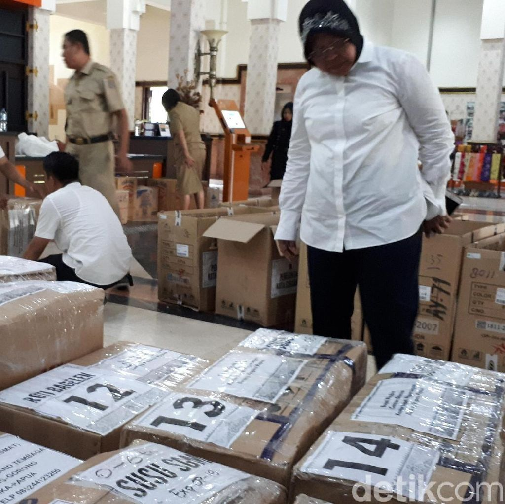 Risma Kirim Bantuan Kemanusiaan untuk Korban Gizi Buruk di Papua