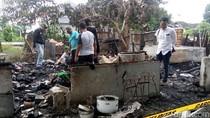 Tewaskan 1 Orang, Polisi Periksa Saksi dan Olah TKP Kebakaran Warung