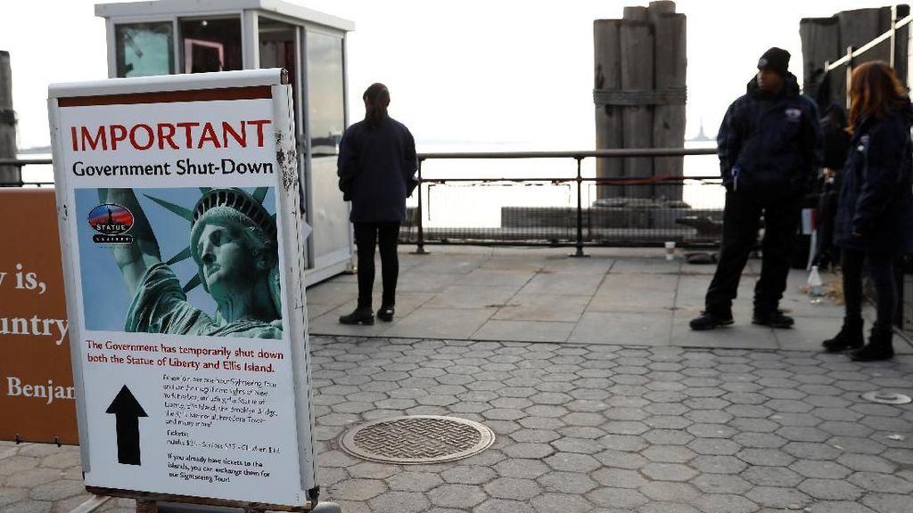 AS Masih Shutdown, Patung Liberty Dibuka Lagi dengan Dana Khusus