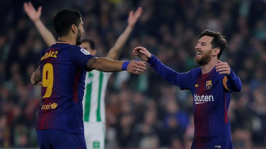 Pencapaian Spesial Suarez dan Messi