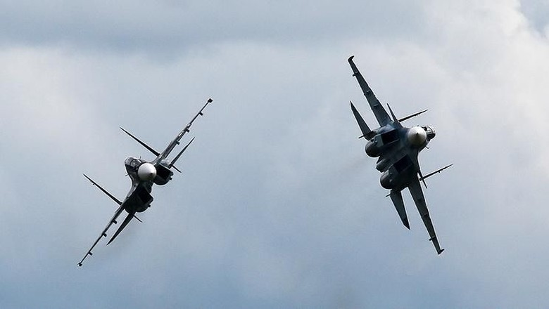 Rusia Akan Jual 6 Jet Tempur Su-30 ke Myanmar