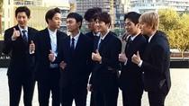 Oppa! Air Mancur Dubai Pasang Lagu EXO
