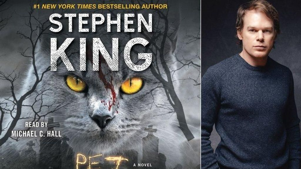Buku Audio Stephen King Pet Sematary Rilis 27 Maret