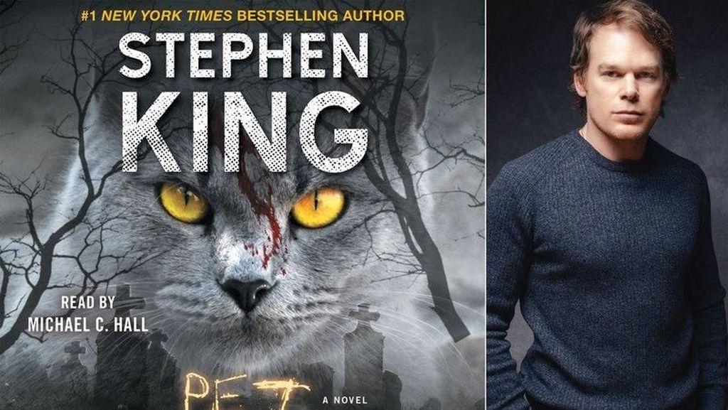 Buku Audio Stephen King Pet Sematary Rilis 27 Maret