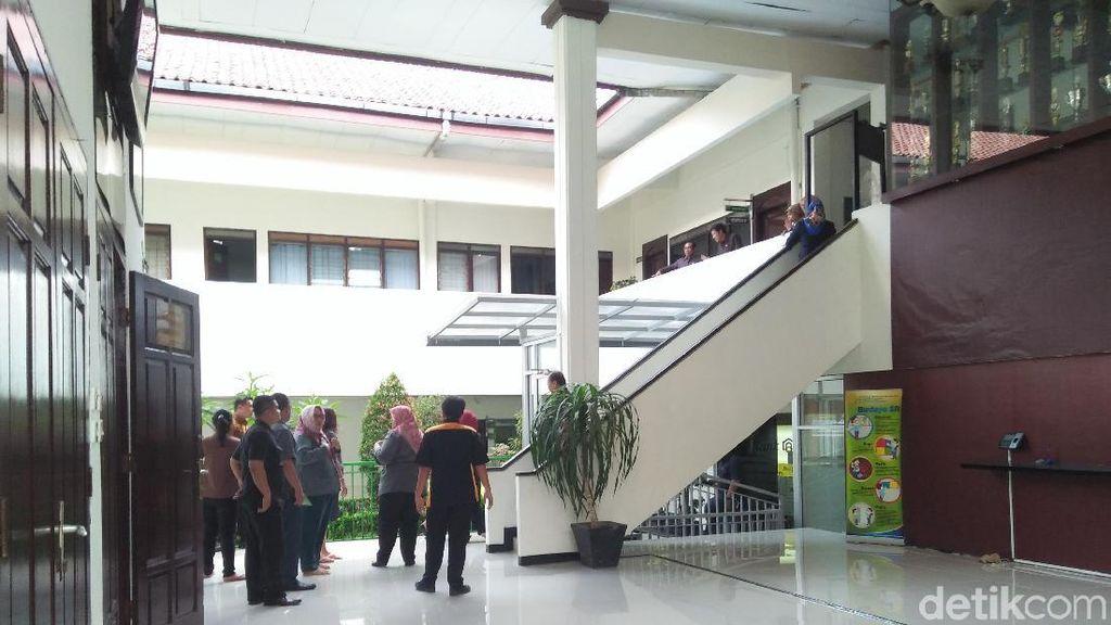 Diguncang Gempa, Hakim di PN Jaksel Tinggalkan Sidang