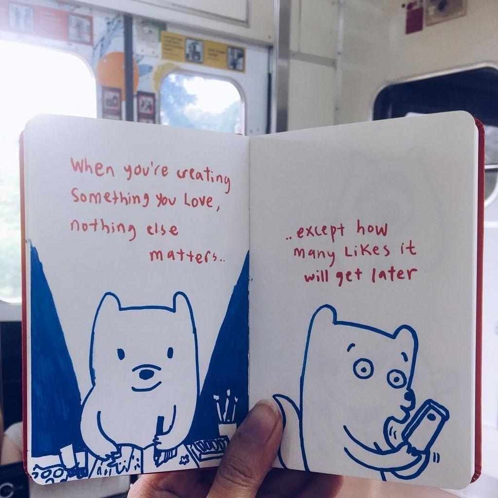 Ilustrasi Choo Choo Muncul saat Perjalanan Commuter Line Palmerah-Rawa Buntu