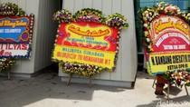 Banjir Karangan Bunga di HUT Megawati Ke-71