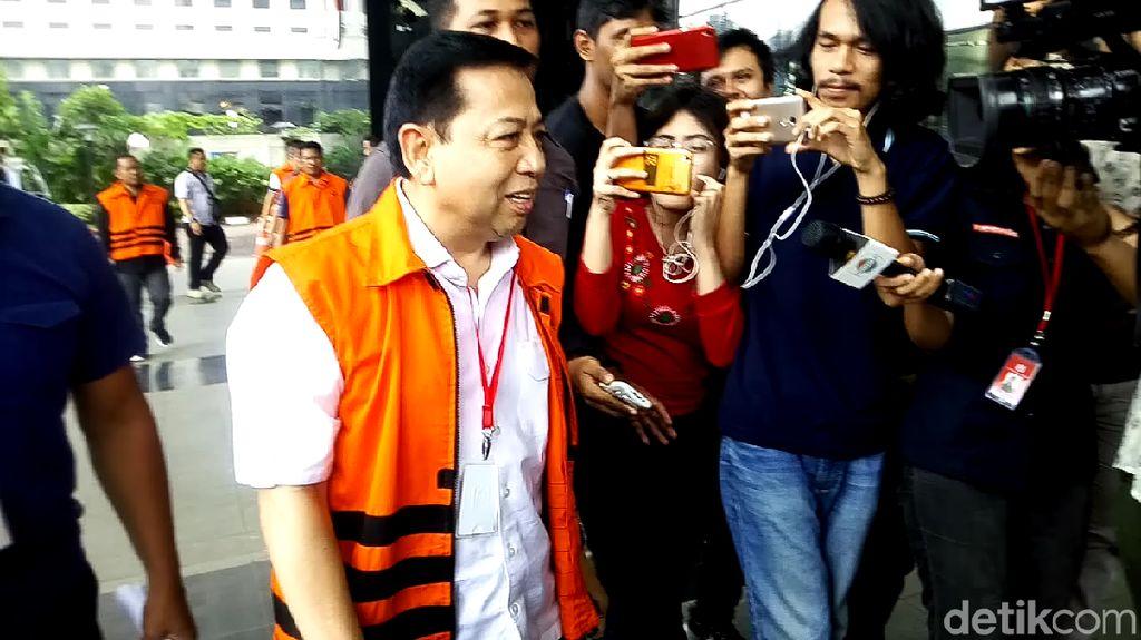 Tak Jadi Kembali ke Rutan, Setya Novanto Diperiksa KPK Lagi