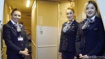 Mengintip Latihan Pramugari Turkish Airlines