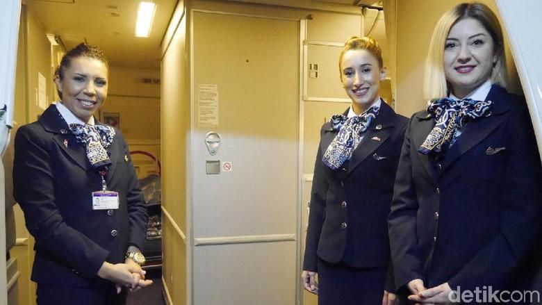 Foto: Pramugari Turkish Airlines (Kurnia/detikTravel)