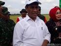 Turun ke Sawah hingga Naik Helikopter, Mentan Cek Panen di Jateng