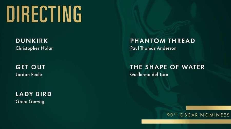 Ini Sutradara yang Masuk Best Directing Oscar