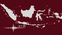 Gempa Banten Terasa dari Lampung Sampai Bantul