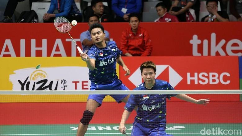 Lolos ke Perempatfinal, Tontowi/Liliyana Ditunggu Zhang Nan/Li Xuanxuan
