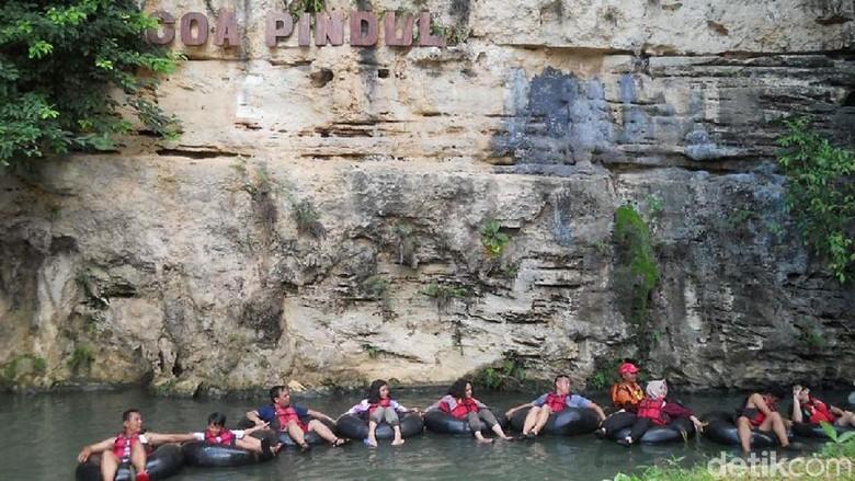 Promo Jomblo di Gua Pindul untuk Gaet Wisatawan Anak Muda