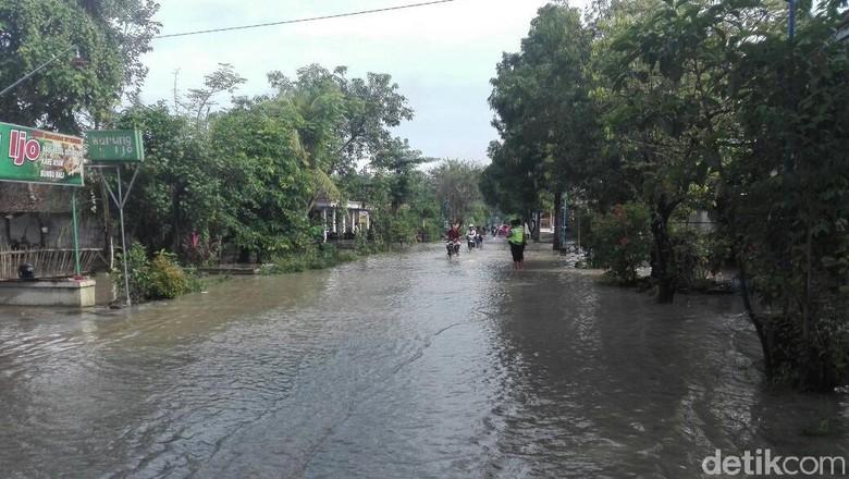 Hujan Deras, Banjir Lumpur Terjang Sebagian Wilayah Ponorogo