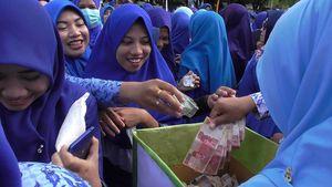 Dalam 5 Menit, PNS di Gorontalo Kumpulkan Infak Rp 558 Juta
