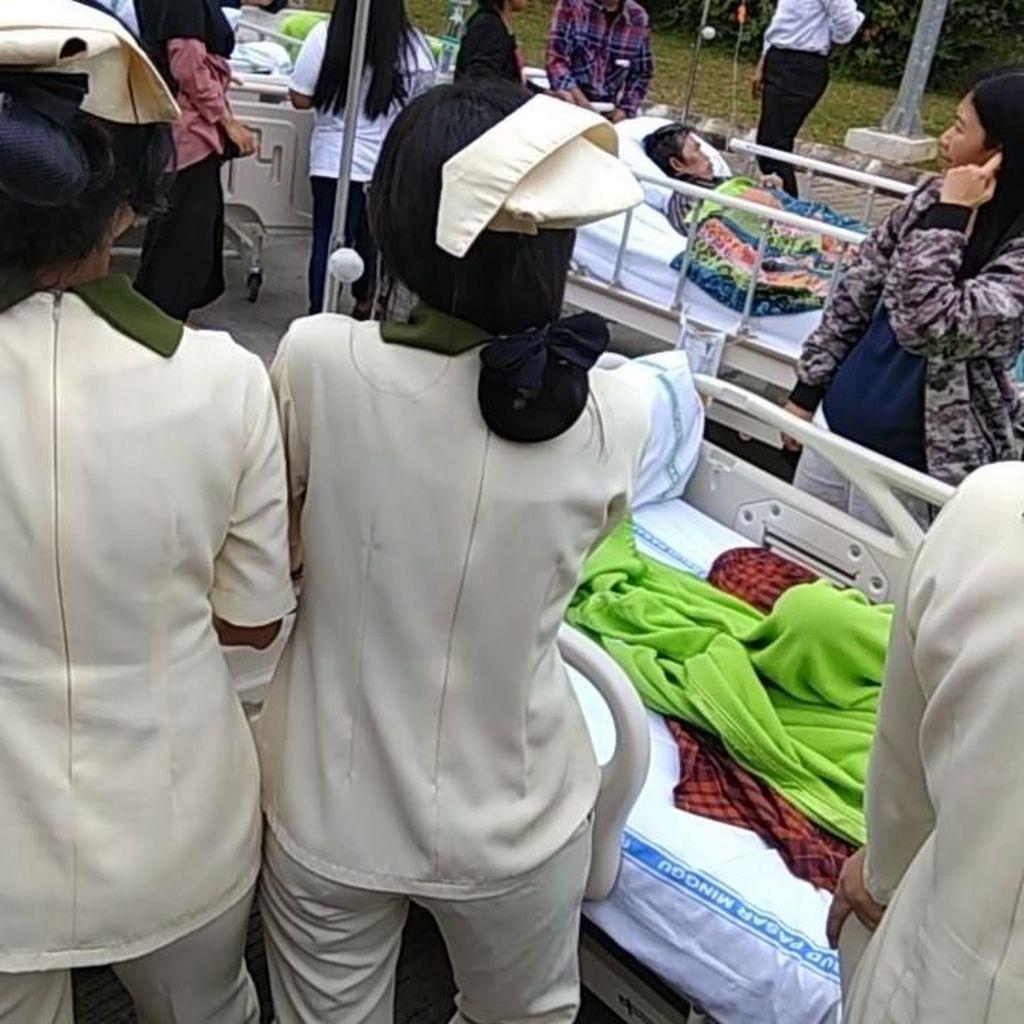 Diguncang Gempa, Pasien RSUD Pasar Minggu Dievakuasi ke Lobi