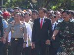 Jokowi Hadiri Pembukaan Rapim TNI-Polri 2018 di Mabes Cilangkap
