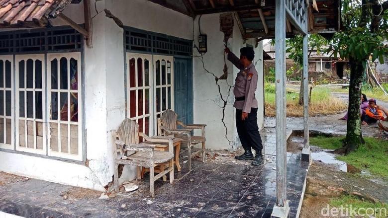 311 Rumah di Banten Rusak Akibat Gempa, 2 Orang Luka Ringan