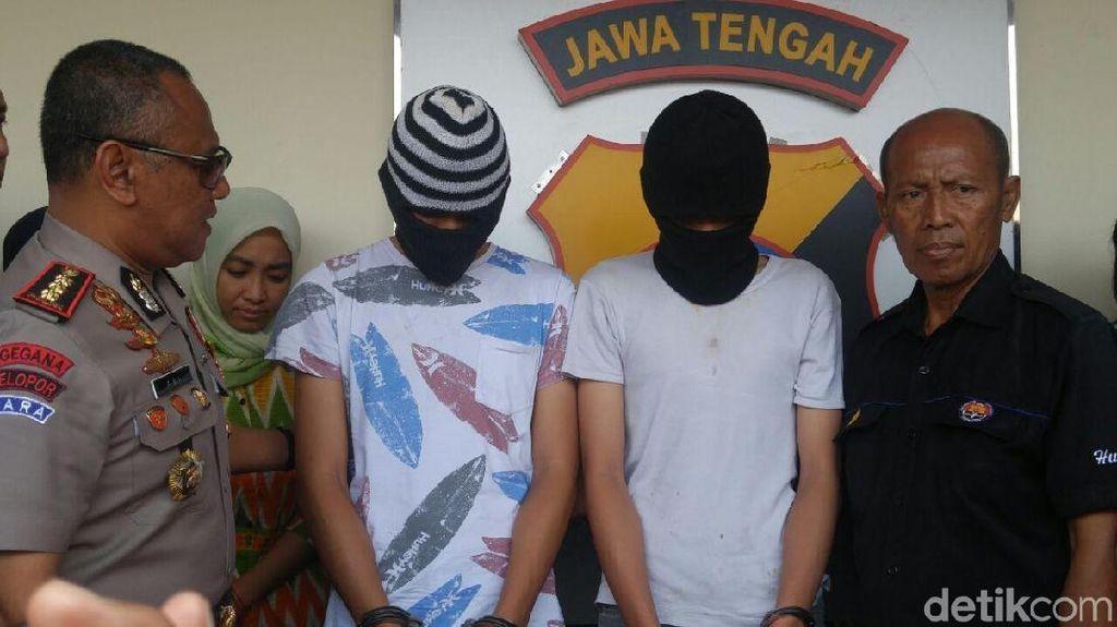 2 Tersangka Pembunuh Driver Taksi Online di Semarang Masih Anak-anak