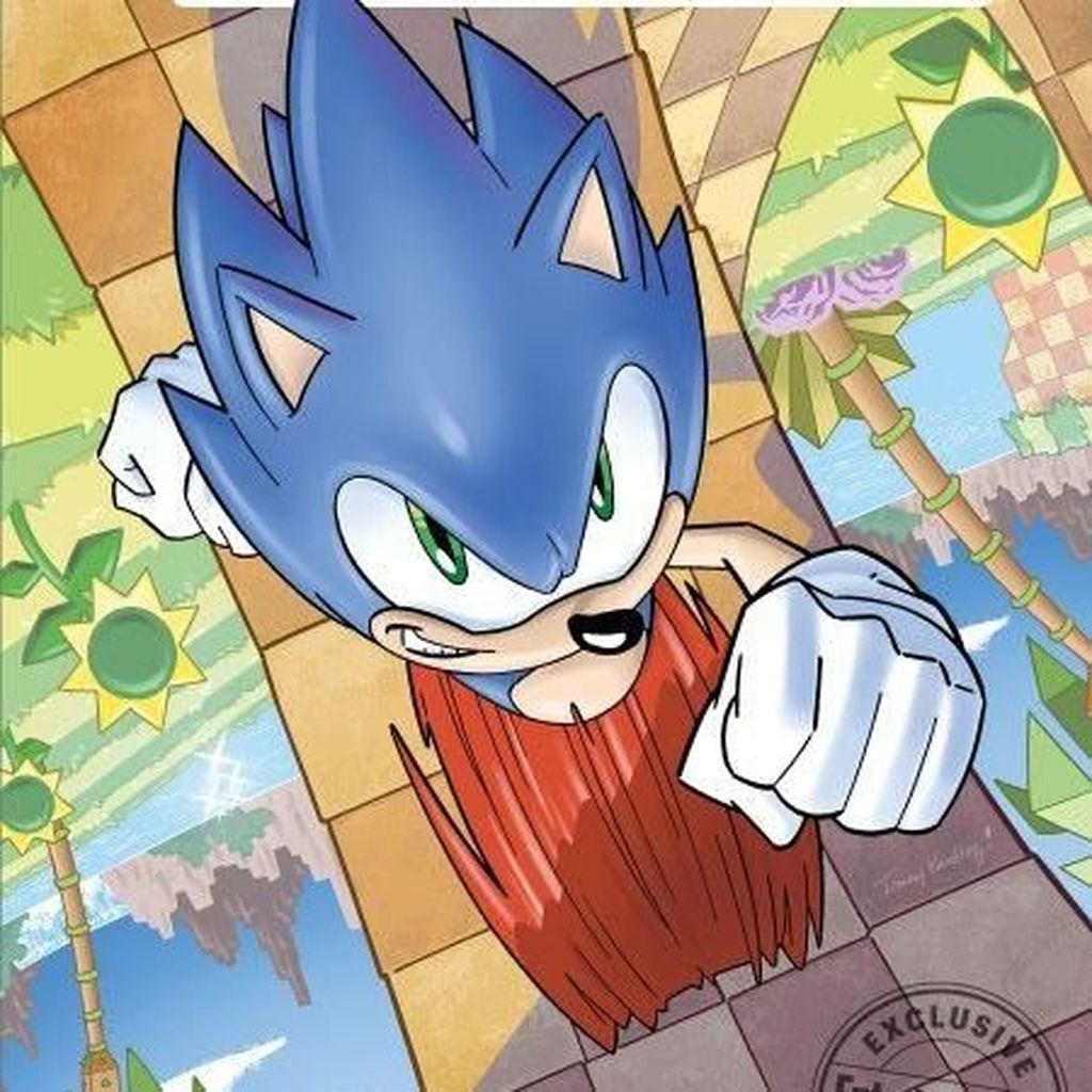 Komik Sonic the Hedgehog Terbit April