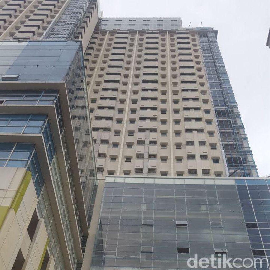 Pengelola Apartemen di Depok Bantah Kabar Viral Soal Miring Pasca Gempa