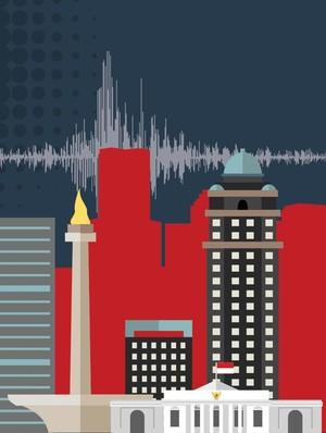 Ayo, Selalu Siaga Menghadapi Gempa di Jakarta