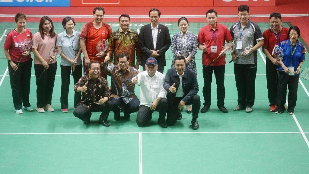 Presiden Jokowi Resmikan Istora