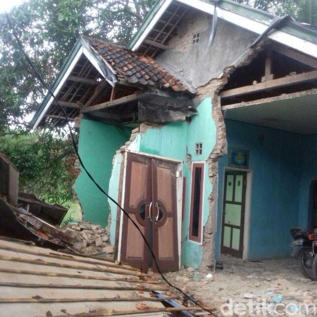 Gempa Banten, Sejumlah Rumah Rusak di Sukabumi