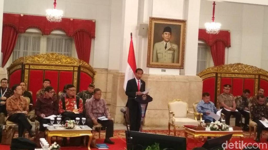 Jokowi Kumpulkan Kepala Daerah Bahas Kemudahan Berusaha