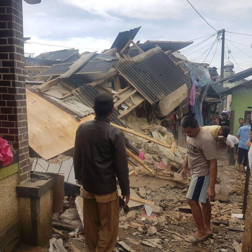 Dampak Gempa Banten, 12 Rumah di Kabupaten Bogor Rusak