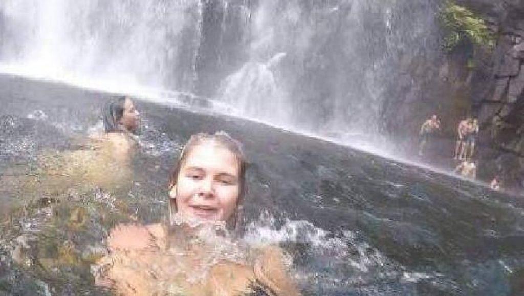 Secara Tak Sengaja, GoPro Ini Rekam Momen Orang Tergelincir di Air Terjun