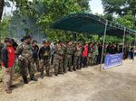 Banser dan Kokam Bersatu Amankan Pilgub Jatim 2018 di Lamongan