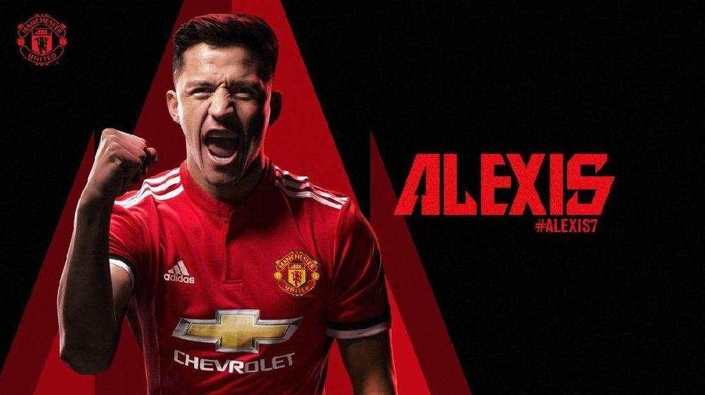 Membayangkan Liburan Pakai Gaji Seminggu Alexis Sanchez