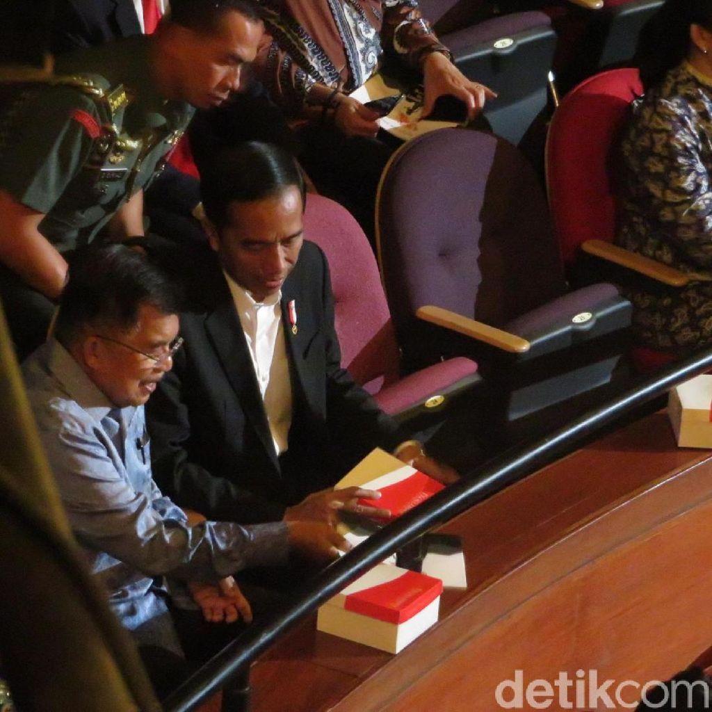 Jokowi-JK Hadiri HUT ke-71 Megawati di Taman Ismail Marzuki