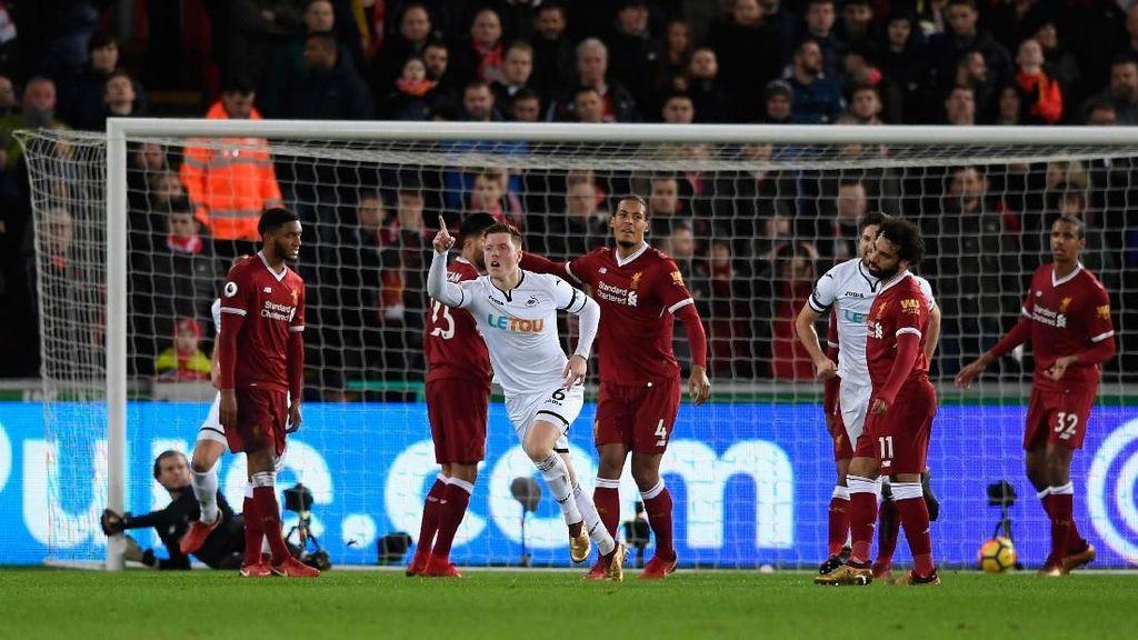 Liverpool Dikalahkan Tim Juru Kunci