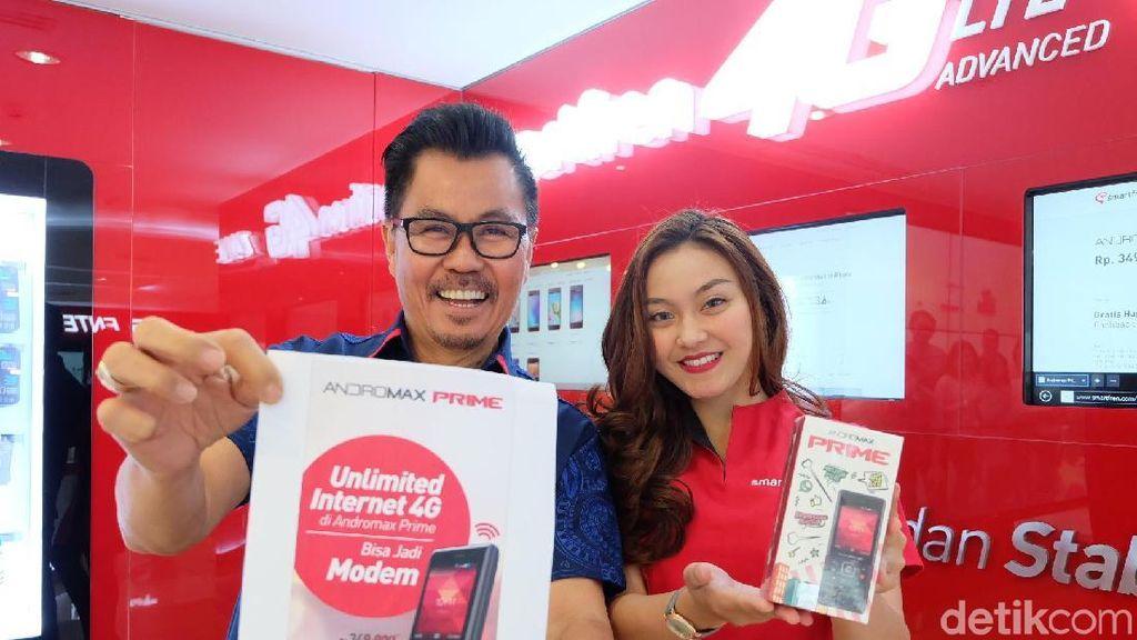 Smartfren Perkuat Jaringan 4G, Tambah 10.000 BTS