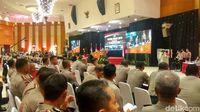 Kapolri Jenderal Tito Karnavian Memberi Pengarahan di Rapim Polri 2018