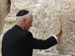 Momen Wapres AS Kunjungi Tembok Ratapan di Yerusalem