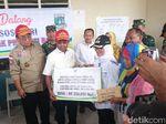 Mensos Beri Bantuan Tahap Awal untuk Korban Gempa Lebak