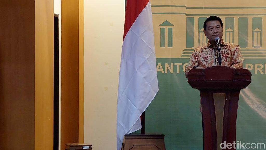 Moeldoko: Usul soal Pj Gubernur dari Polisi Belum Ada di Meja Jokowi